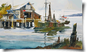 Watercolor painting artist Tony Couch teaches watercolor workshops across the U.S. and abroad. Tony Couch's watercolor classes are for students, beginners, intermediate level painters and professional painters alike. Tony Couch teaches the basics of design, and you paint your first watercolor paintin the very first day. Learn how to paint with watercolor, learn watercolor techniques, learn watercolor for beginners, learn watercolor tips, and more with artist Tony Couch.